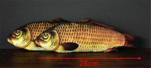 Image 2 - Appearing Fish (28cm) Magic Tricks Fish Appearing From Card Case Magia Magician Stage Illusions Gimmick Prop Mentalism 2018 FISM