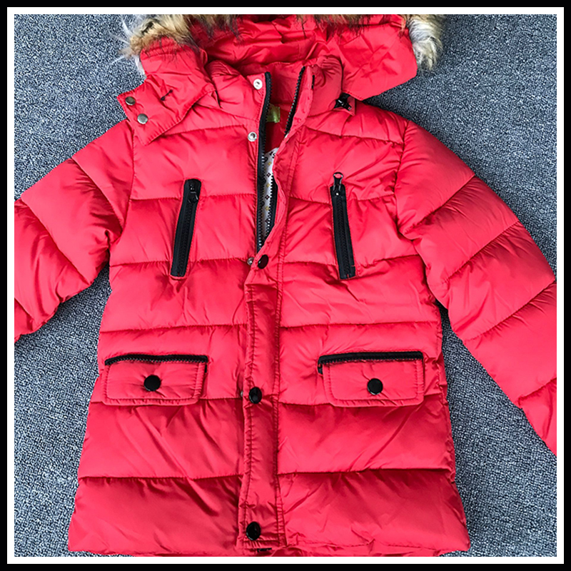 Girls Winter Jacket Children Duck Down Regular Section girls Warm Coat Kids Down & Parkas Coat Fur Hooded Outerwear Clothing mioigee girls fashion fur collar winter outerwear hooded thick children girls long duck down jacket coat high quality