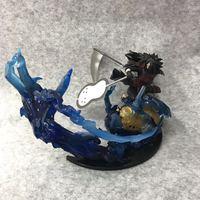 18cm Japanese anime figure Naruto Uchiha Madara Scenes action figure collectible model toys for boys