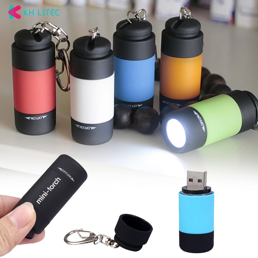 KHLITEC-LED-Mini-Torch-0.3W-25Lum-USB-Rechargeable-LED-Torch-Lamp-Keychain-mini-torch-bright-light-2018-led-flashlight1