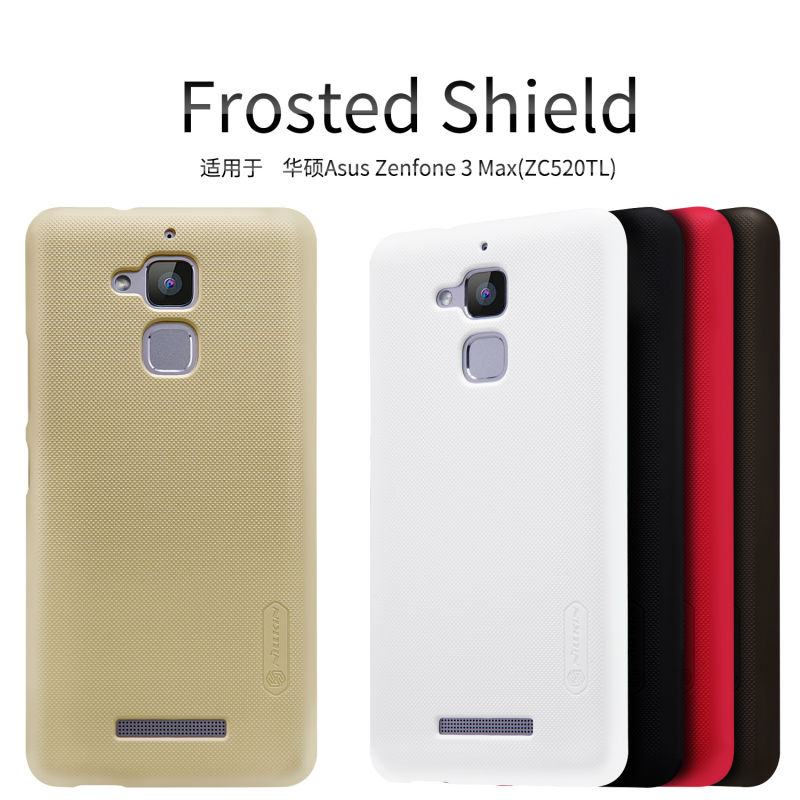 NILLKIN Frosted Plastic back cover case For Asus Zenfone 3 Max(ZC520TL)/ASUS Zenfone Pegasus 3 X008 5.2 inch cellphone