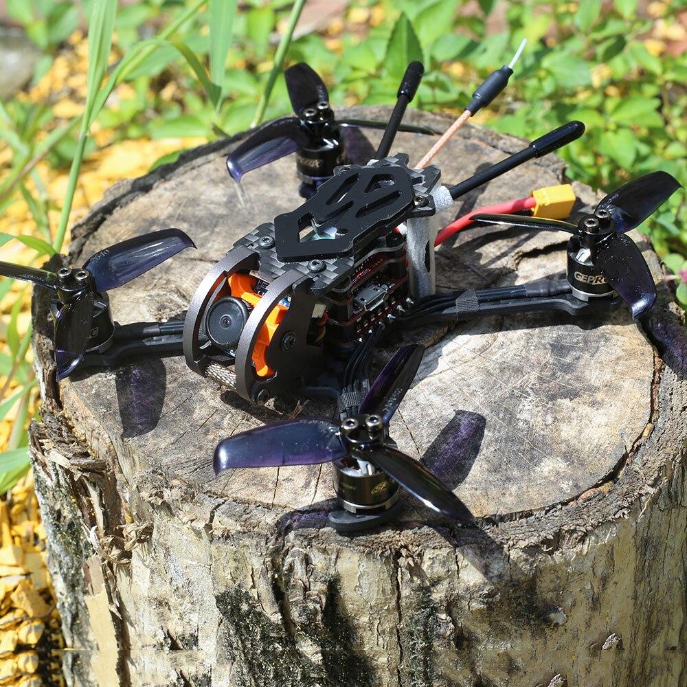 Oyuncaklar ve Hobi Ürünleri'ten RC Helikopterler'de GEP PX2.5 Phoenix 600TVL Kamera 125mm FPV Yarış Drone rc dört pervaneli helikopter Drone Parçaları w/Frsky Alıcı BNF'da  Grup 3