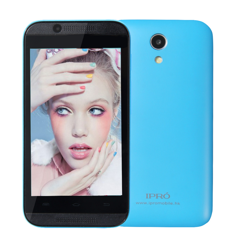 IPRO Smart Phone Android SmartPhone MTK 6572A/X Dual Core Dual SIM Cards Unlocked Mobile Phone Celular Slim Color Bar Cell Phone