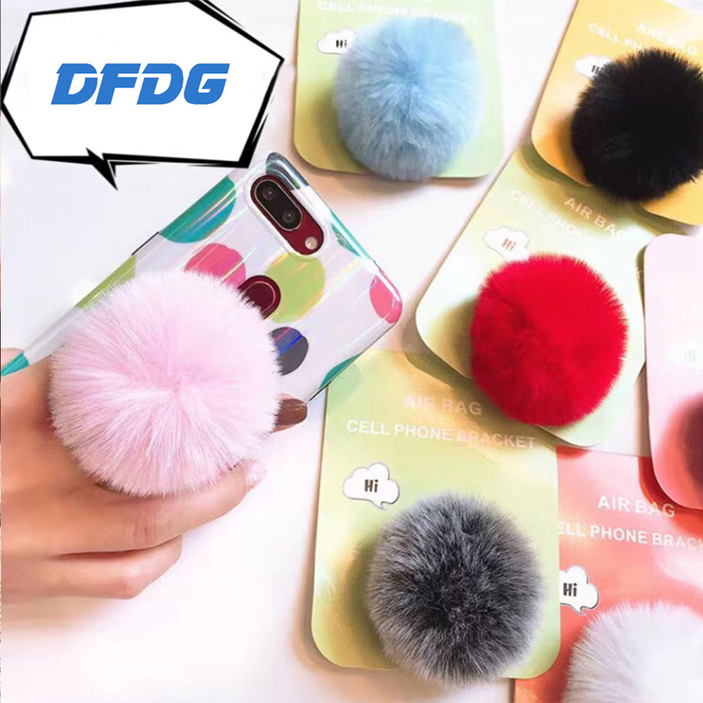 lazy mobile phone seat font b accessories b font cute plush colorful adjustable mobile phone font