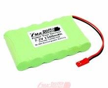 DIY Compex Sport3 ממריץ שרירים Mi ספורט 500 Ni MH סוללה 7.2V 1500mAh עבור חירום יציאה כניסה אור AA_6SB