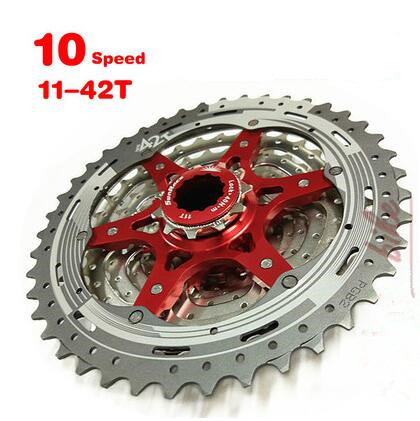 SunRace CSMX3 11 40T 11 42T 10 Speed 10V MTB Bike Cassette Freewheel Wide Ratio bicycle