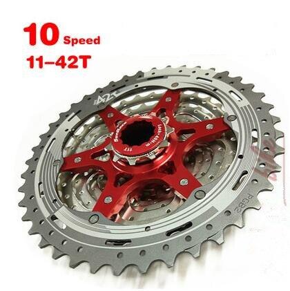 SunRace CSMX3 11-40 T/11-42 T 10 vitesses 10 V vtt vélo Cassette roue libre large rapport vélo vtt roue libre Cassette 11-40 T/11-42 T