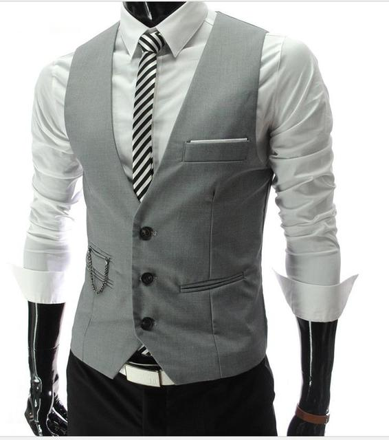 2016 nova moda dos homens Casuais Fino Colete Terno banquete de casamento cavalheiro E Custom made estilo gentleman vest dos homens