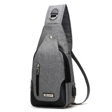 New Arrival 2017 Nylon Chest Pack Multifunctional Men Messenger Bags Casual Travel Male Small Retro Shoulder Bag
