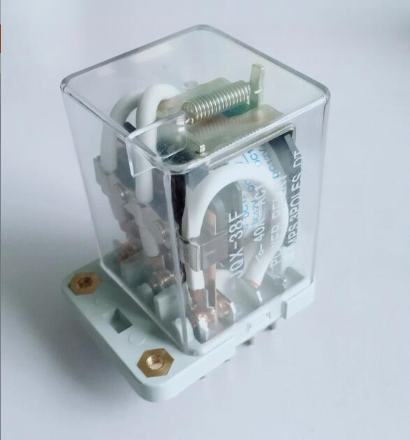 Intermediate relay JQX-38F 3Z 40A power relay Electromagnetic relay 11pin DC12V DC24V AC110V AC220V ep f57 grey