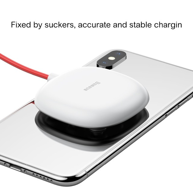 Qi Wireless Suction Charger Cup