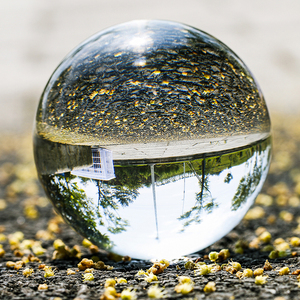 H & D Klare Kristall Kugel Ball mit Stand 40/50/60/80/100mm K9 kristall Fotografie Prop Dekoration Kunst Fengshui Home Office Decor