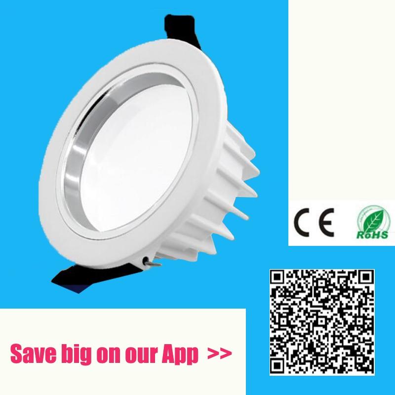 LED Downlight,6in 3500K,120-277V 900lm