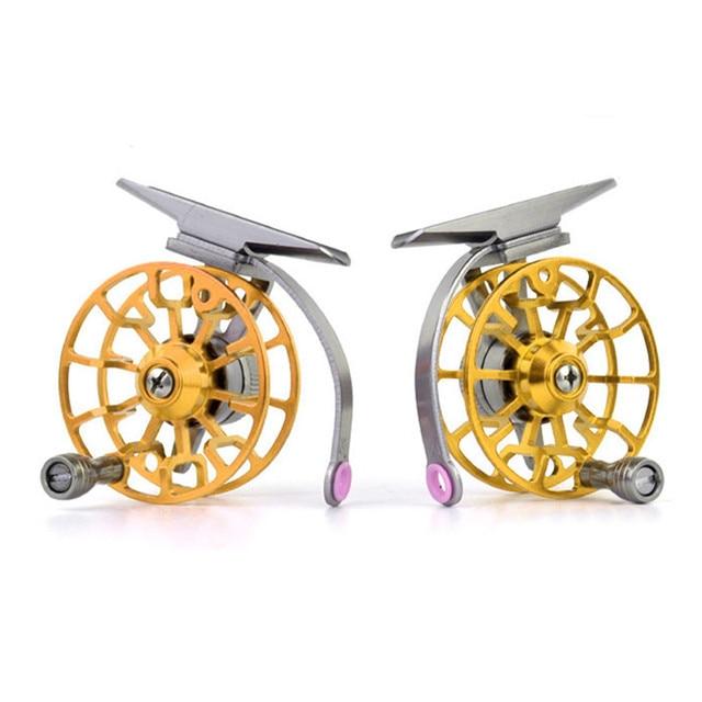 Aluminum Fly Fishing Reel Diameter 55mm Size Right or Left Hand Retrieve 2017,JULY,10 2