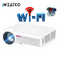 Built In Android 4 2 4000Lumens 1080P Full HD Smart LED 3D Video Projector 220W Lamp