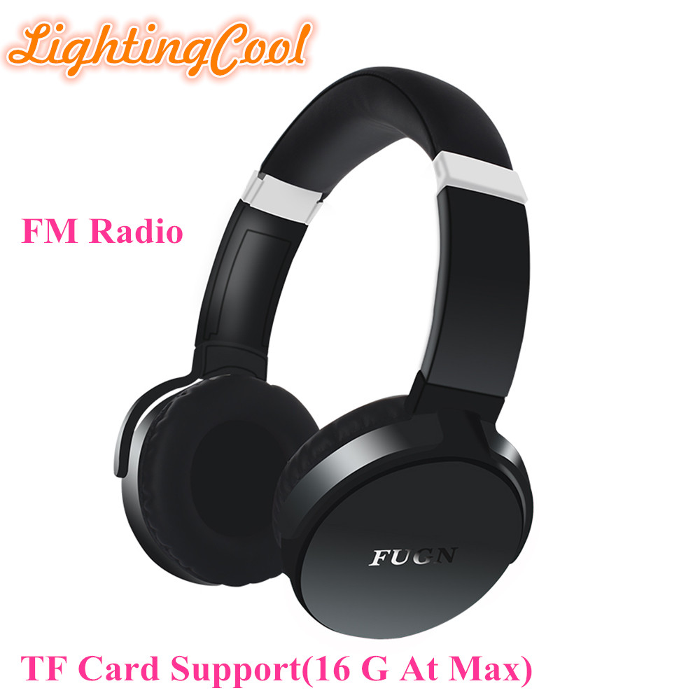 Foldable Bluetooth Over-ear Headphones, Wireless HI-FI Stereo Headset with Mic, FM Radio Built-in, Support Micro SD/TF Card high quality zealot b5 bluetooth wireless headphones foldable tf card over ear hd headphone headsets with mic