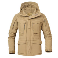 M65 UK US Army Military Jackets Clothes Casual Tactical Shark Skin Windbreaker Men Winter Autumn Waterproof Coat Hoodie Outwear