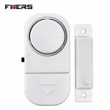 Fuers Standalone Magnetic Sensors Independent Wireless Home Door Window Entry Burglar Alarm Security alarm Guardian