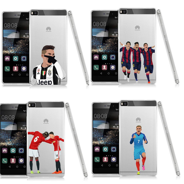 huawei p8 lite 2017 coque football