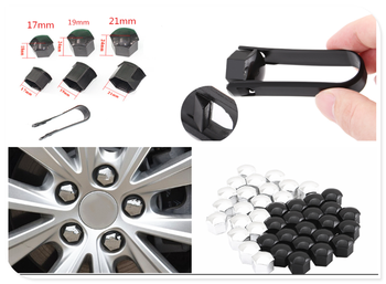 20Pcs car wheel nut cap screw housing decoration 17mm 19mm 21mm for BMW all series 1 2 3 4 5 6 7 X E F-series E46 E90 image