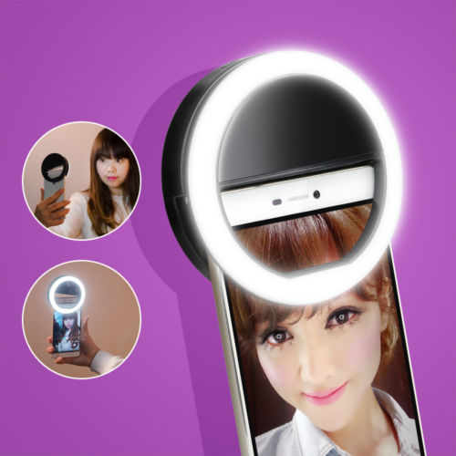 LED Light Flash UP Makeup Selfie Case cover For Ulefone power paris x be touch vienna Gemini pro metal lite for TP-Link Y50 X1