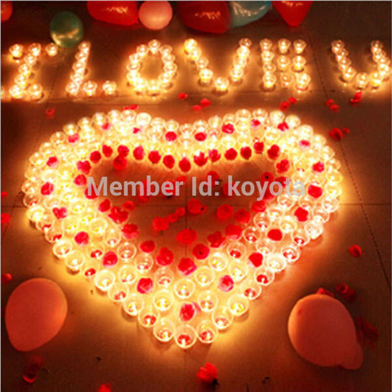 12PCS/Lot LED Tealight Battery Operated Flickering Flicker Flameless Tea Candles Light for Wedding Birthday Party Christmas Home