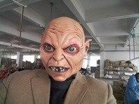 Freies Verschiffen Realistische grau wolf Gesicht Maske Halloween Latexmaske jack Maskerade Parteistützen