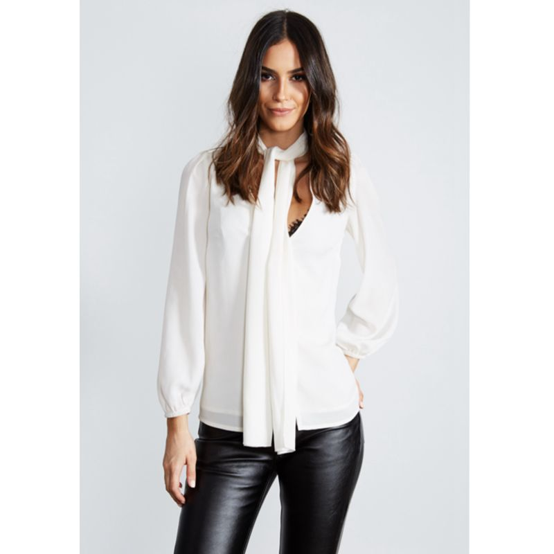 Hot summer Europe and the United States fashion personality hollow V neck sleeve solid color chiffon female shirt in Blouses amp Shirts from Women 39 s Clothing