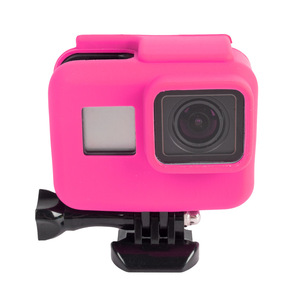 Image 3 - 2000X Soft Rubber Silicone Protective Housing Case for GoPro Hero 6 5 Sport Camera Skin Cases Gopro hero 5 Cover Fundas Coque