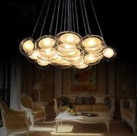 Modern Creative Glass Bubble Ball Glass Chandelier Goose Eggs In The Bedroom Romantic Restaurant Hanging Lamp