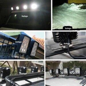 Image 5 - Автомобильная светодиодная противотуманная фара Safego, 2 шт., 27 Вт, 12 В, 4 х4 дюйма