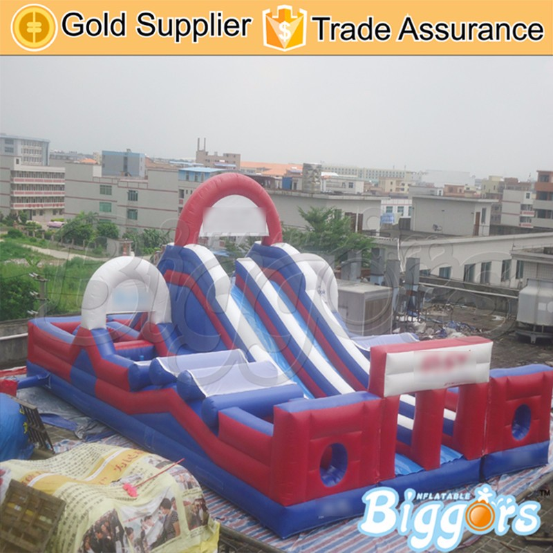 Inflatable obstacle course--YARD
