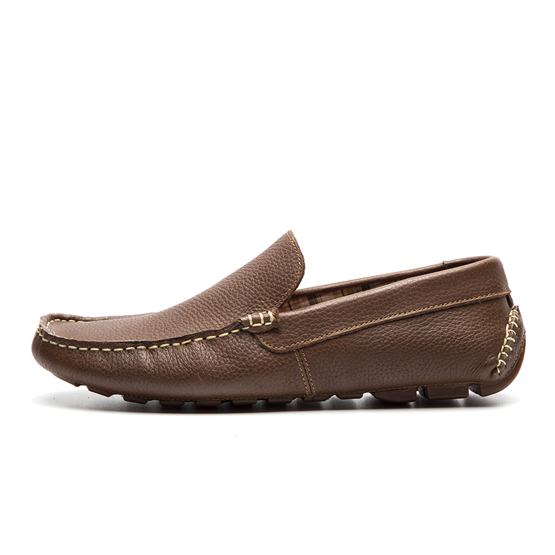 Lingge Shoes Leisure Genuine Pelle Comfortable Boat Shoes Rubber Non-Slip Comfortable Pelle Uomo1 729607