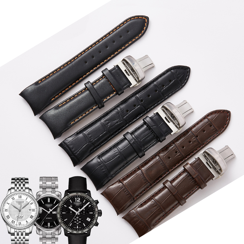Watch Accessories Strap Watch Bracelet Vintage Cow Leather Watch Band 22mm 23mm 24mm Man Watchbands for Tissot T035 Watch