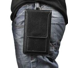Haak Lus Lederen Riem Mobiele Telefoon Case Voor Galaxy A6s A8s, Voor Nokia 8.1 2.1, voor HTC Exodus 1, Desire 12 s, Leagoo S10 M11