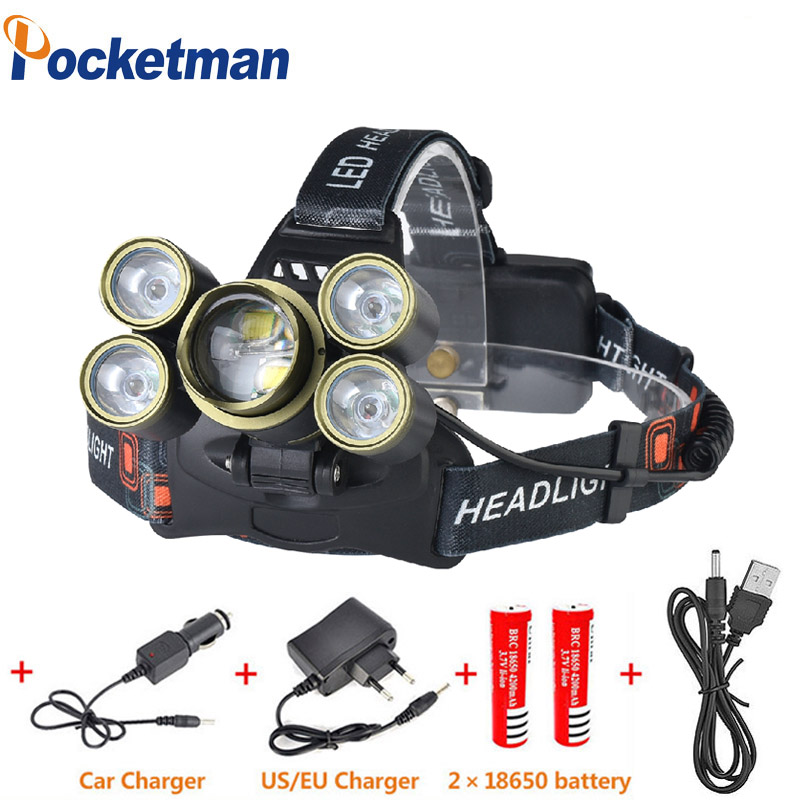 15000LM Led Headlamp 7 led Lantern XML T6 Head Lamp zoomable Torch Headlight Lanterna Headlamps Flashlights use 18650 Battery sitemap 7 xml