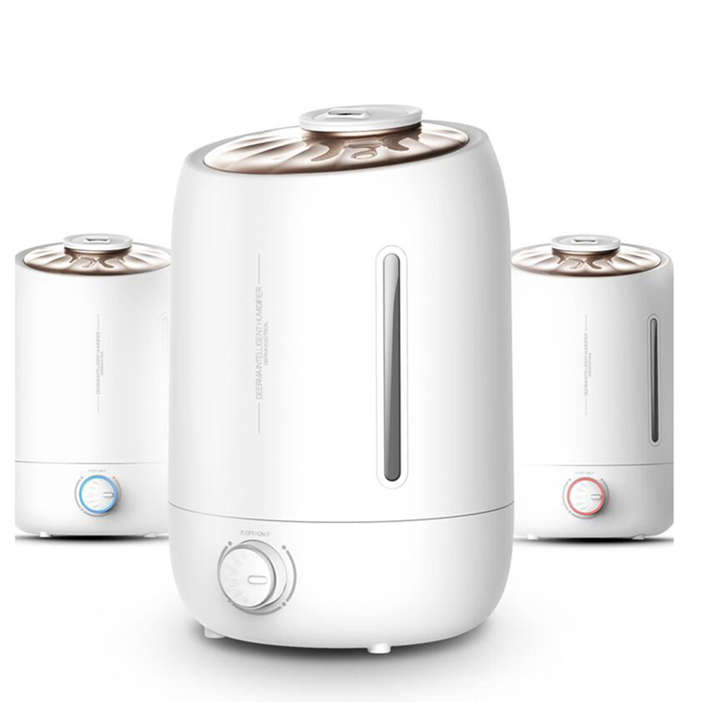 5L 350 ML/H Difusor De Aroma humidificador ultrasónico Difusor del aceite del Aroma ionizador generador aromaterapia Ag + purificador Mist Maker