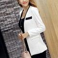 Блейзер Feminino Пальто Jaqueta Feminina Женщин Пиджаки Jaquetas Feminina Куртка Женщин Blazer Feminino Branco d35