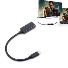 Кабель типа C к HDMI HD USB 3,1 к HDMI компьютерному телефону подключение HDTV проекция