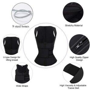 Image 2 - HEXIN латексный утягивающий корсет для талии, корсет с высокой степенью сжатия, женское утягивающее белье на молнии, нижнее белье