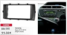 Navirider Android 8.0 radio tape recorder octa Core 4GB RAM 32GB rom (frame+DVD series) fit for Toyota aqua 2012-2014 RHD