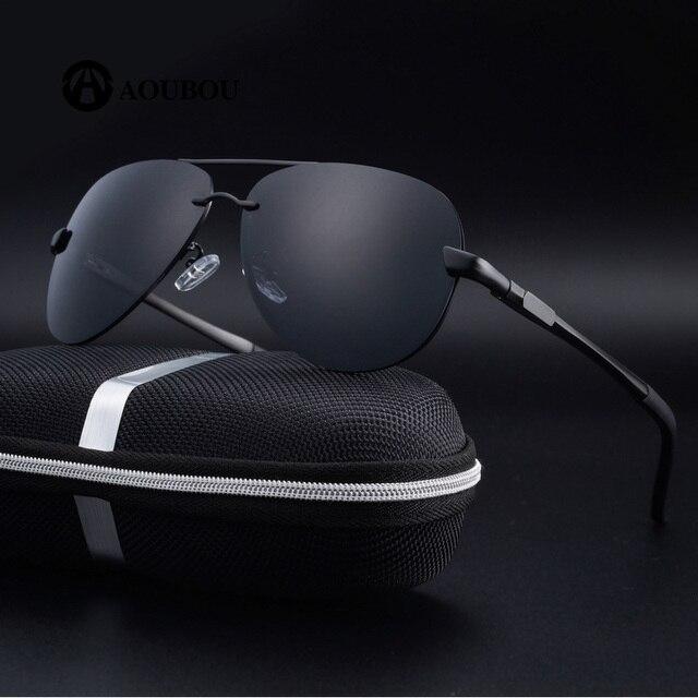 17d7b75a81 Polarized Sunglasses 2019 Men Classic Large Lenses Lente de Contato Visao  NoturnaOculos Kurt Cobain Lunette de