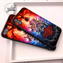 hot deal buy coque stranger things case for iphone 7 plus xs max case for iphone 5 5s se 6s 7 8 plus cases for iphone xr 6 7 8 plus x xs max
