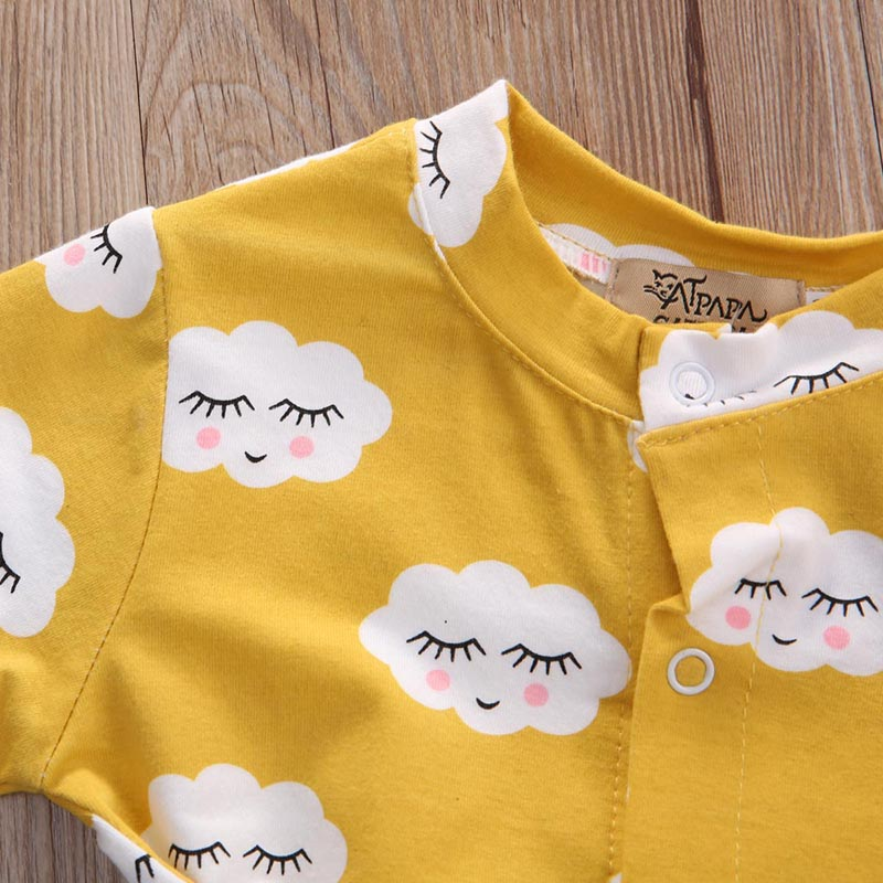 HTB1zj1kacrrK1RjSspaq6AREXXaw Pudcoco Girl Clothes Newborn Infant Baby Kids Girls Clothes Jumpsuit Romper Outfits Set
