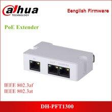 Dahua-alimentation électrique PoE PFT1300, Support 1 RJ45, 10/100M, accessoire de caméra Ip d'entrée pour systèmes ip