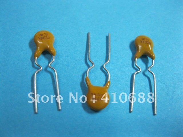 Radial Leaded PPTC Resettable Fuse 72V 0.4A XF040 PolySwitch New Hot Sale HIGH Quality 1000 Pcs Per Lot
