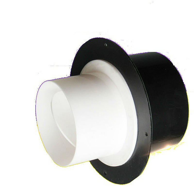 exhaust fan check valve air damper valve hvac variable diam one way valve 100 to 80 75mm for bathroom ventilation extractor fans