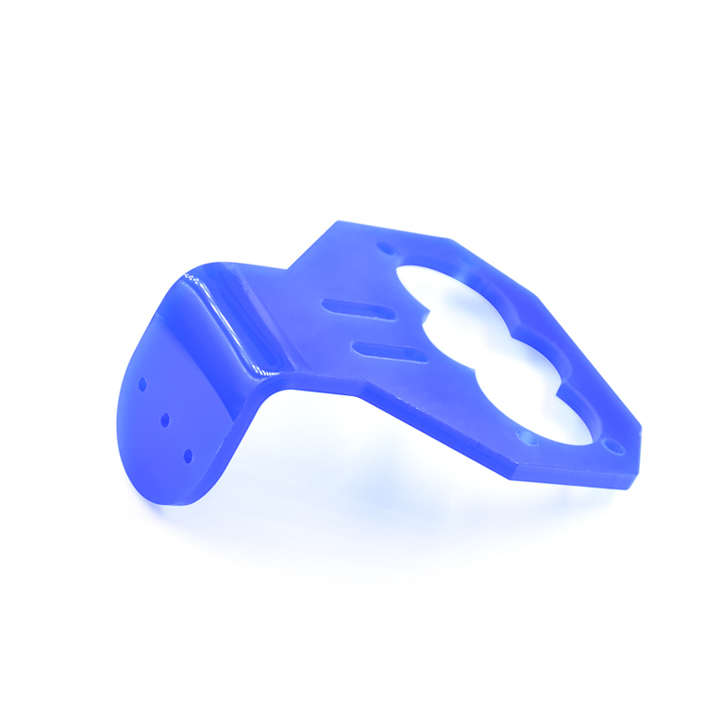 20PCS/LOT Cartoon Ultrasonic Sensor Mounting Bracket for HC-SR04 Smart Car Blue Color