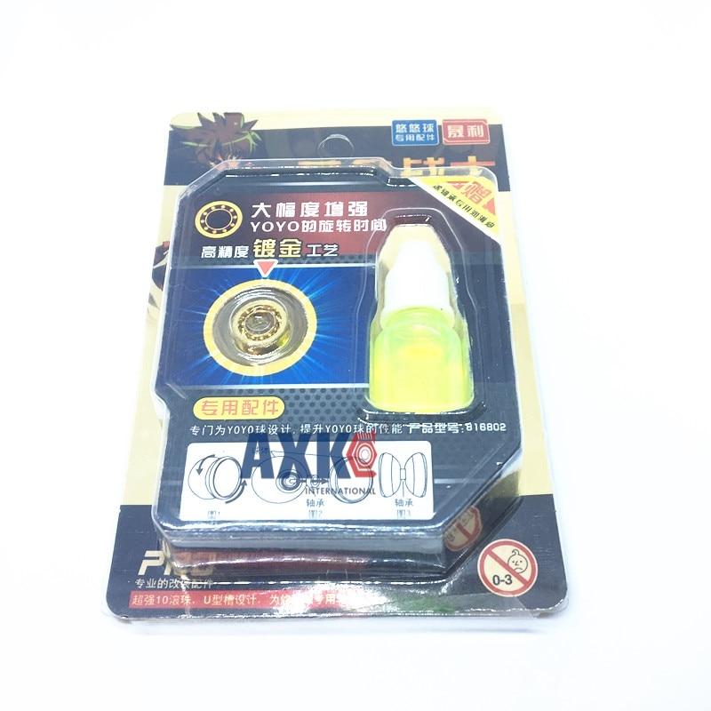 Gold R188KK 10 beads 6.35x12.7x4.762mm hand spinner top yo-yo R188 KK Bearing 10 Balls puller accessory long time R188 UU ne yo ne yo libra scale