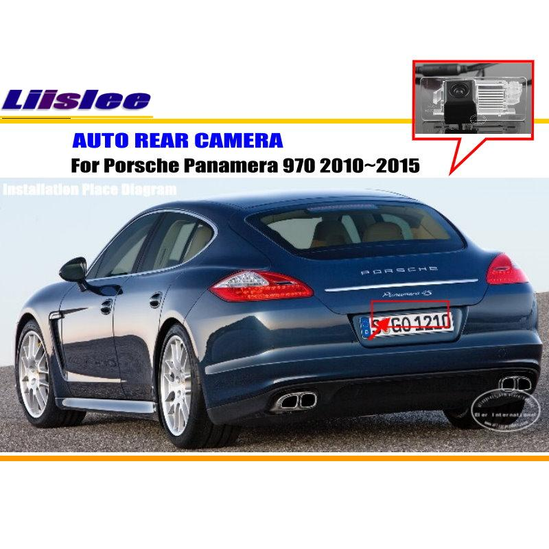 For Porsche Panamera 970 2010~2015 - RearView Camera / Backup Parking Camera / NTST PAL / License Plate Light OEM